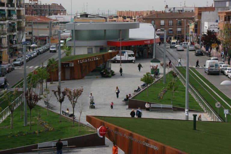 vista área de Parla ciudad